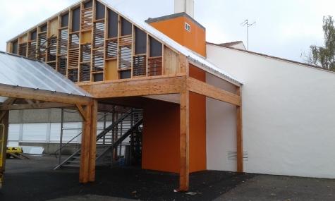 Construction cage ascenceur