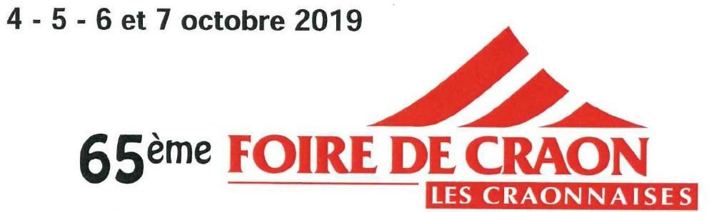 Foire de Craon octbre 2019 onorm maçonnerie
